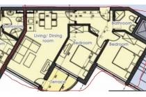 3-стайни апртаменти в Сарафово (България) за 67900 евро