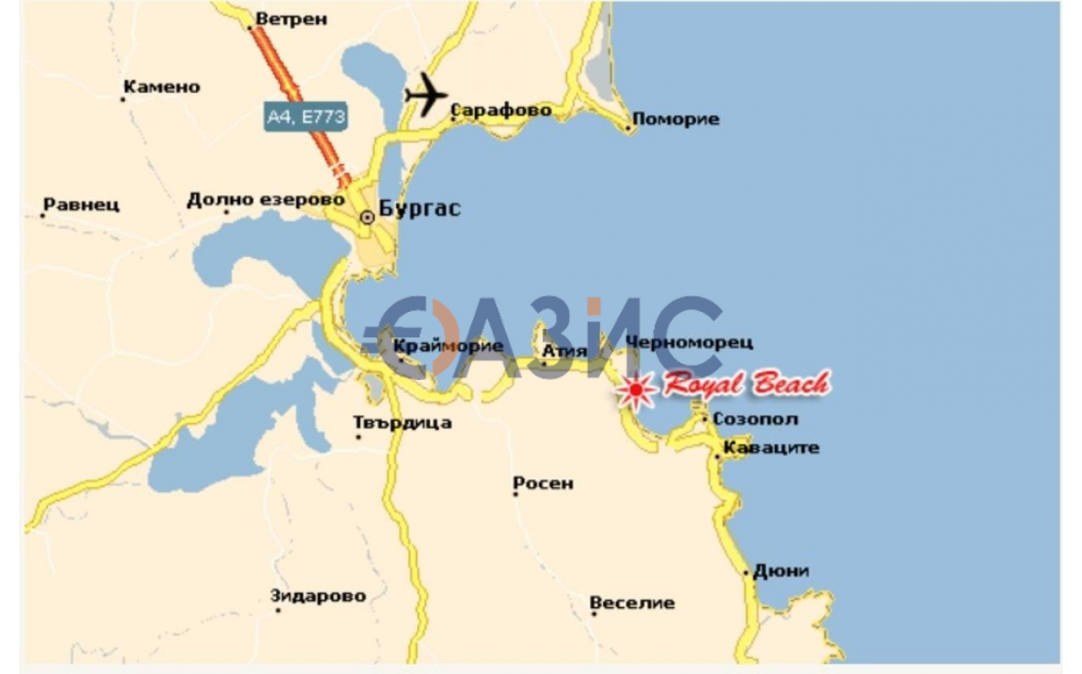 Студио в Черноморце (България) за 29990 евро