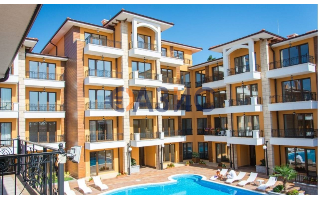 Студия в Святом Власе (Болгария) за 33575 евро