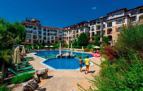 3х комнатные апартаменты в Несебре (Болгария) за 110000 евро