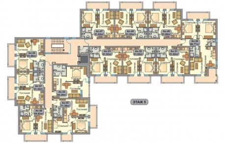 3х комнатные апартаменты в Солнечном Берегу (Болгария) за 25300 евро
