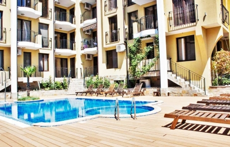 2х комнатные апартаменты в Святом Власе (Болгария) за 34500 евро