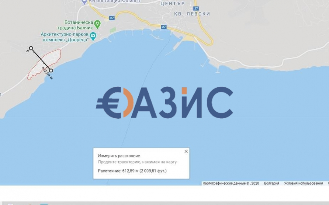 Студия в Балчике (Болгария) за 33500 евро