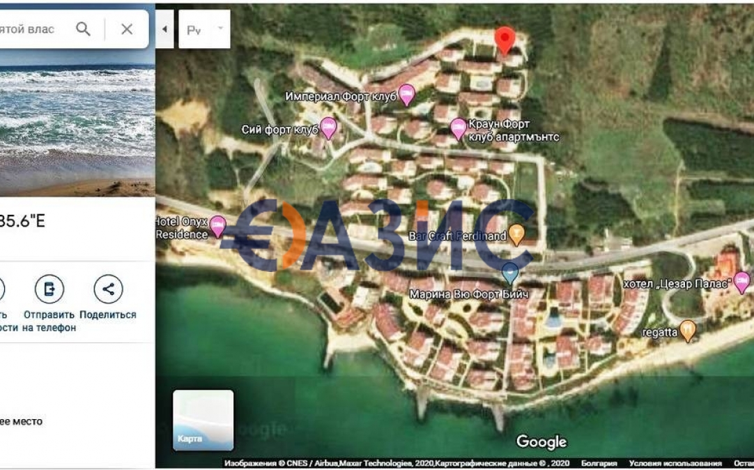 Студио в Свети Влас (България) за 51659 евро