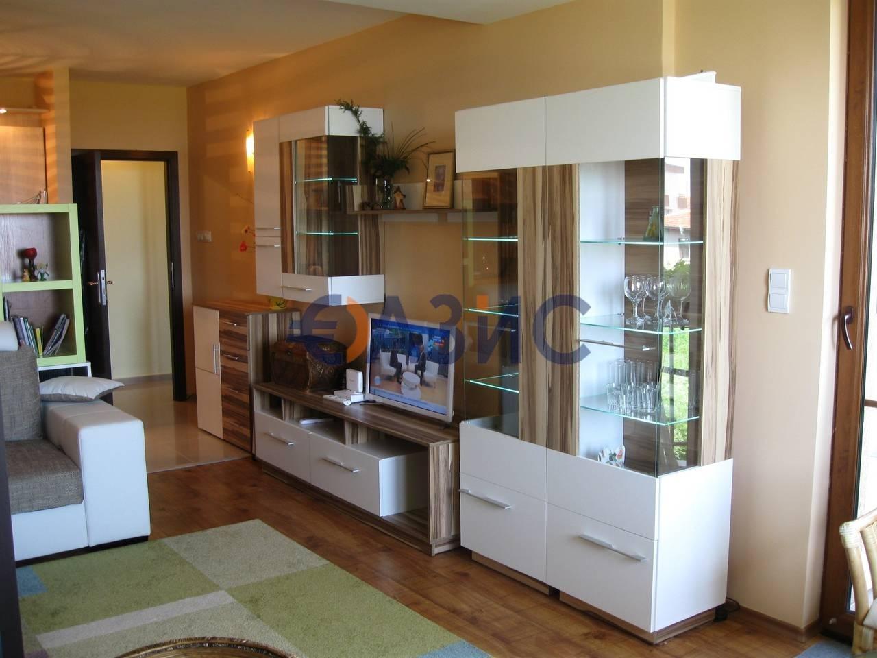 Апартамент с 1 спальней с видом на море, 2эт., Черноморец, Болгария, 6